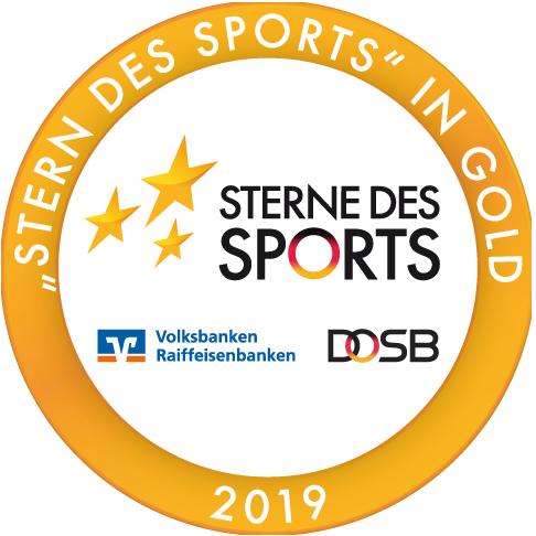 """Auszeichnung """"Sterne des Sports"""" in Gold 2019"""